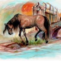 fabula caballo viejo