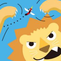 fabula mosquito y el leon
