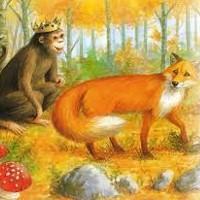 cuento del rey mono y el zorro