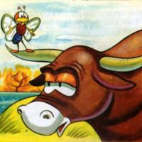 fabula toro y mosquito