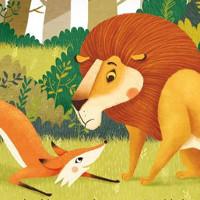 cuento del zorro y el leon