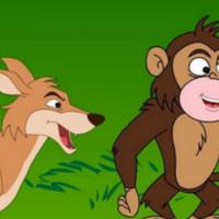 cuento zorra y mono